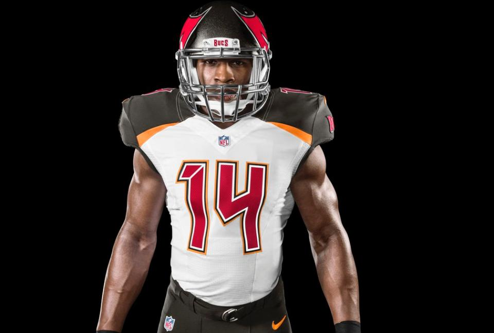 check out 558dd f0908 Photos: Tampa Bay Buccaneers Release Images of New 2014 Nike ...