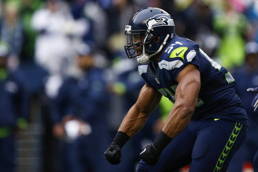 b7da3a5e824 54 Bobby Wagner Middle Linebacker of the Seattle Seahawks